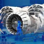 LEGO Ideas Aircraft Engine Workshop (9)