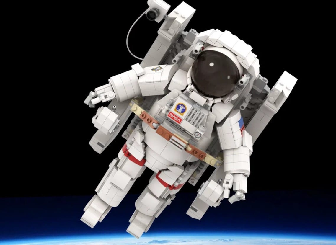 LEGO Ideas LEGO Astronaut (1) Test