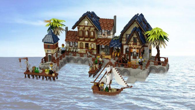 LEGO Ideas Medieval Harbor (1)