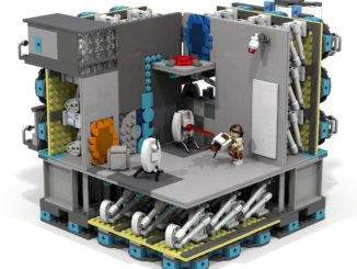 LEGO Ideas Modular Portal Testing Chamber (16)
