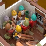 LEGO Ideas Seven Dwarfs (9)