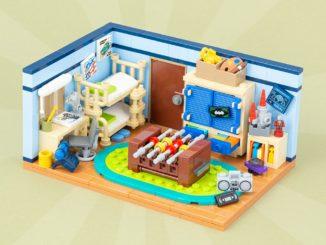 LEGO MOC Kinderzimmer Titelbild