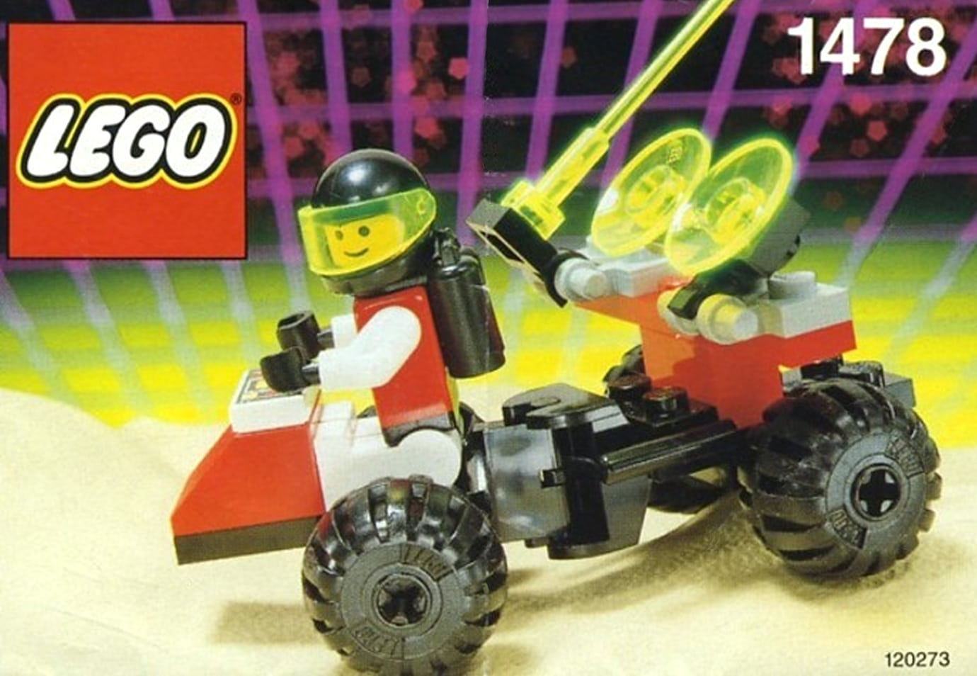 LEGO M Tron 1478 Mobile Satellite Up Link