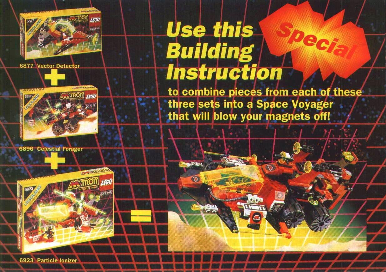 LEGO M Tron 6862 Anleitung Rückseite
