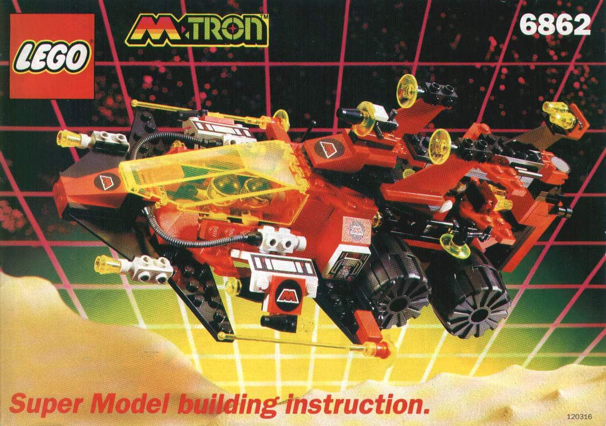 LEGO M Tron 6862 Space Voyager Super Model