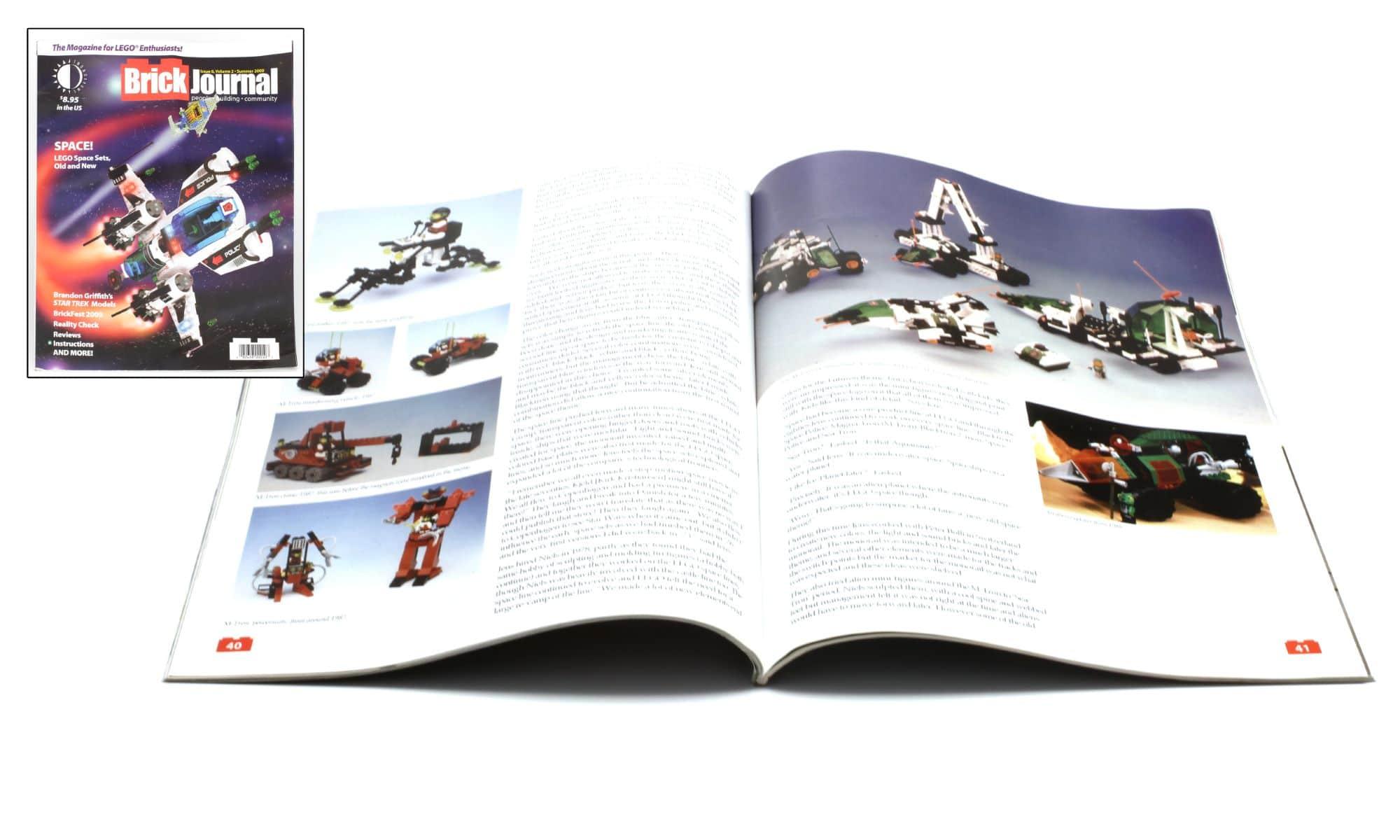 LEGO M Tron Prototypen Brick Journal