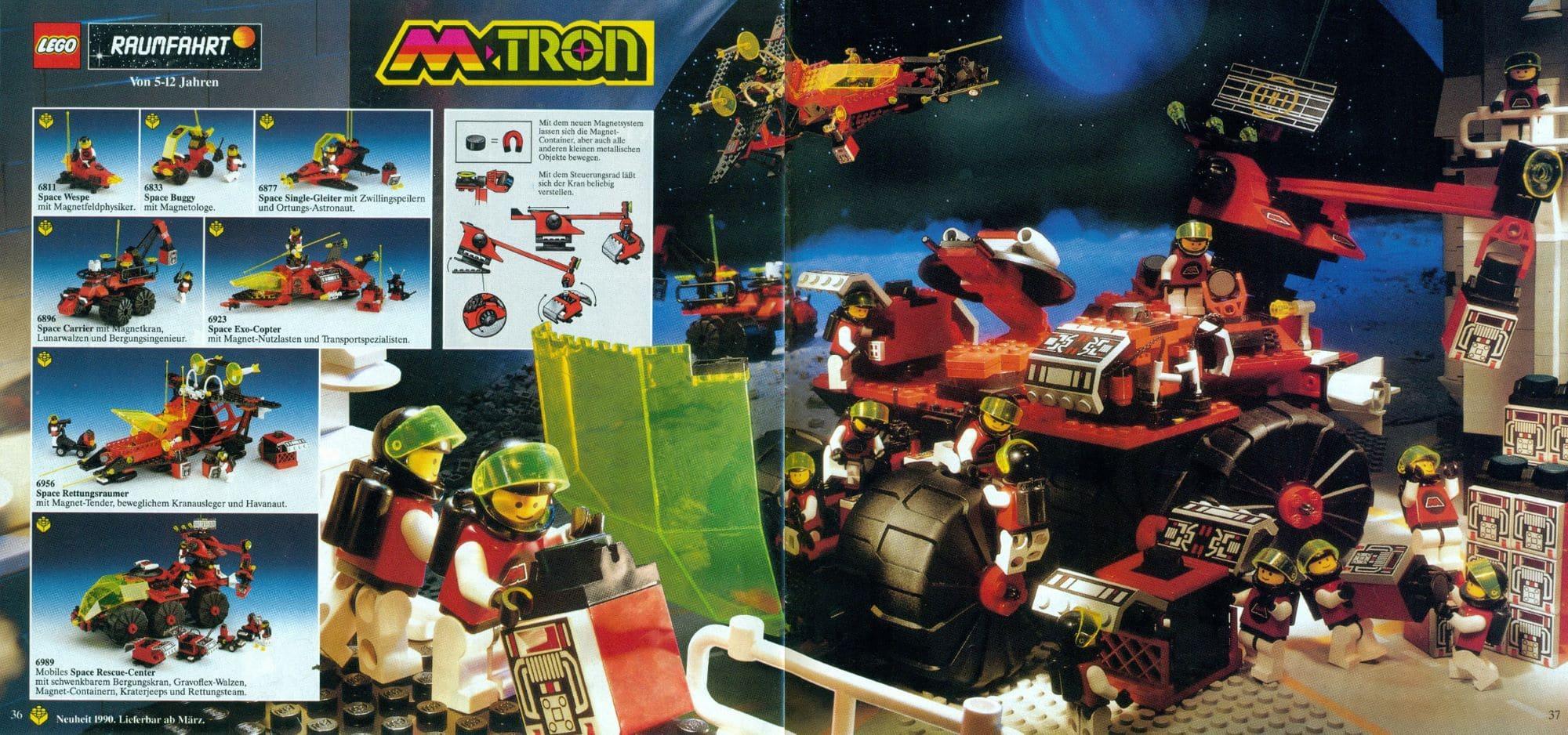 LEGO M Tron Scan Katalog Groß 1990