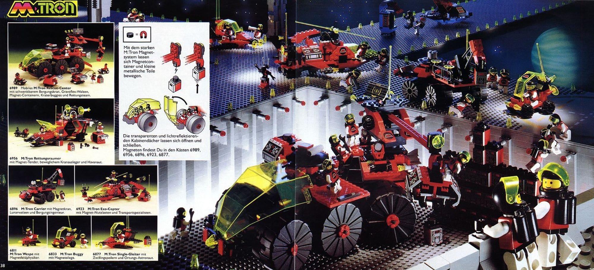 LEGO M Tron Scan Katalog Groß 1991