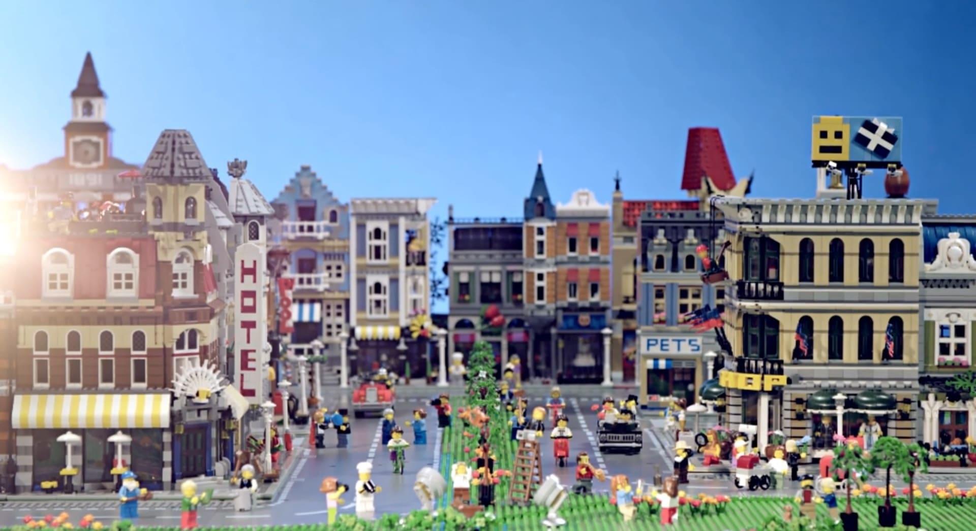 LEGO Modular Buildings City
