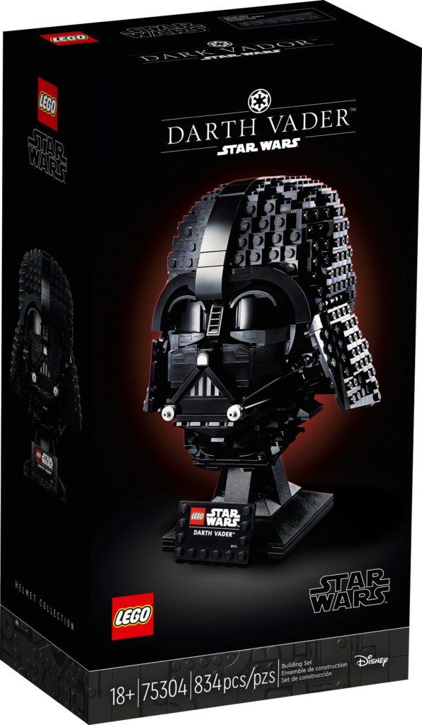 LEGO Star Wars 75304 Darth Vader Helm 2