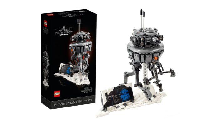LEGO Star Wars 75306 Imperial Probe Droid Titel