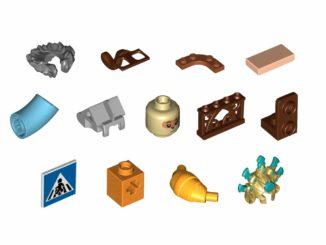 LEGO Steine Und Teile Maerz 2021 Highlights