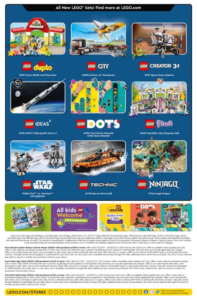 LEGO Store Flyer April 2021 Seite 2