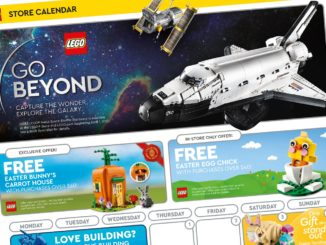 LEGO Store Flyer April 2021