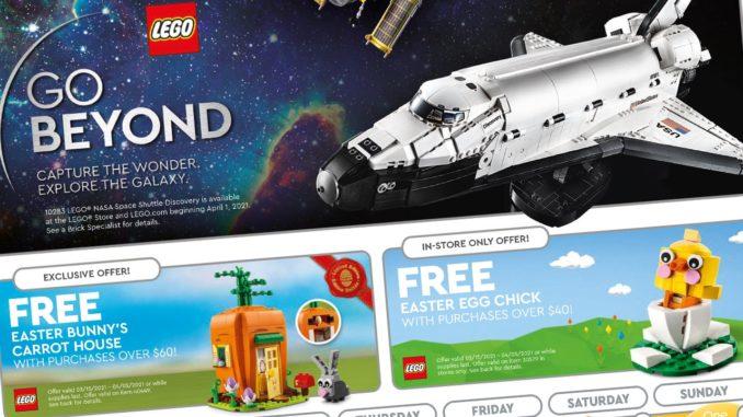 LEGO Store Flyer April 2021
