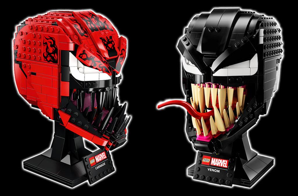 LEGO Venom Und Carnage Kopf
