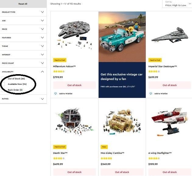 LEGO Bericht 2020 Us Shop