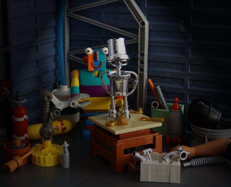 Modestolus Stripy's Hobby Room