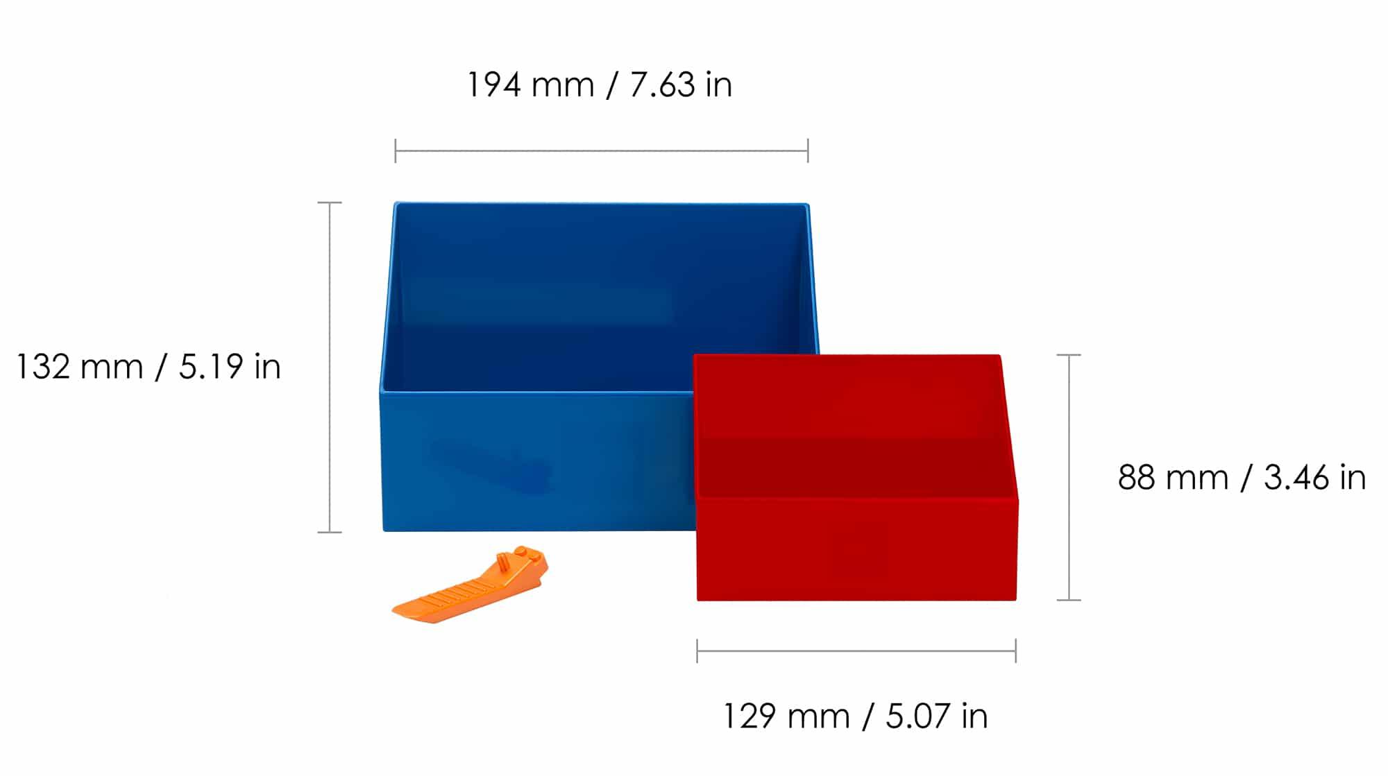Room Copenhagen LEGO Brick Scooper Set Maße 01