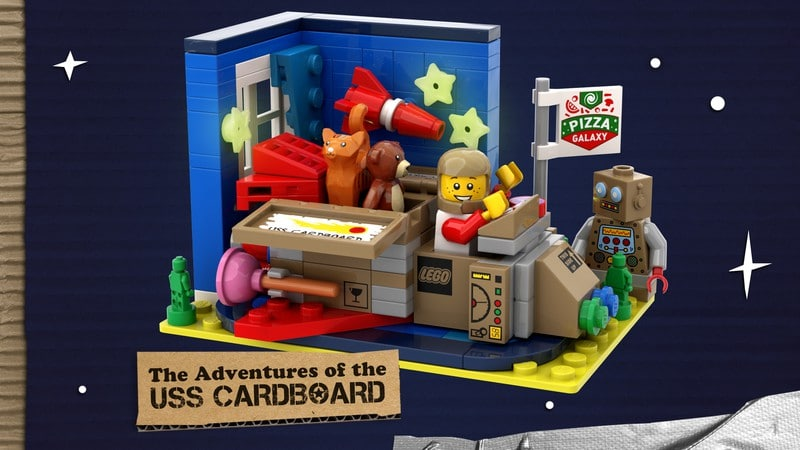 The Adventures Of The Uss Cardboard By Bulldoozer