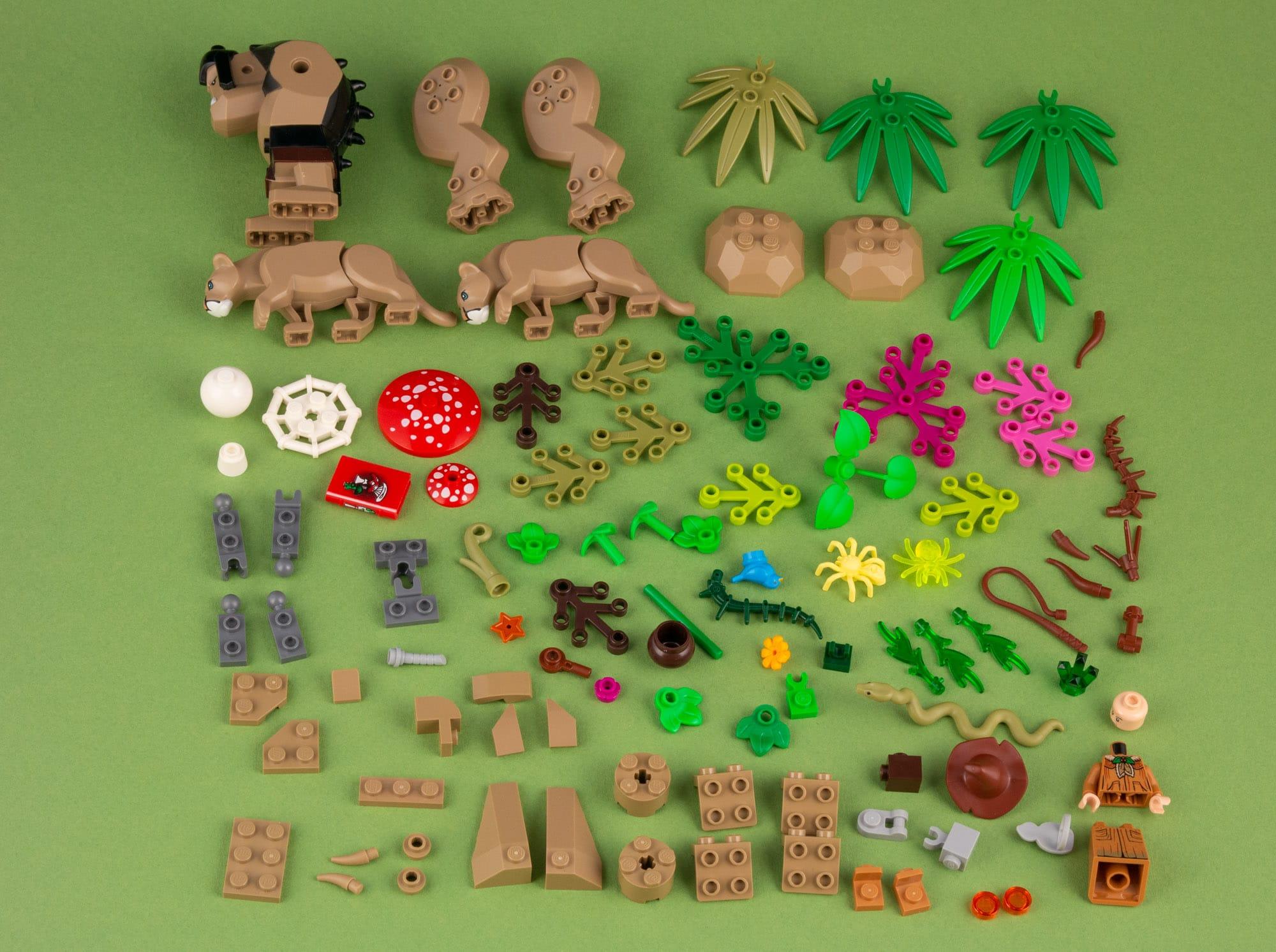 Tree Golem 101 Teile