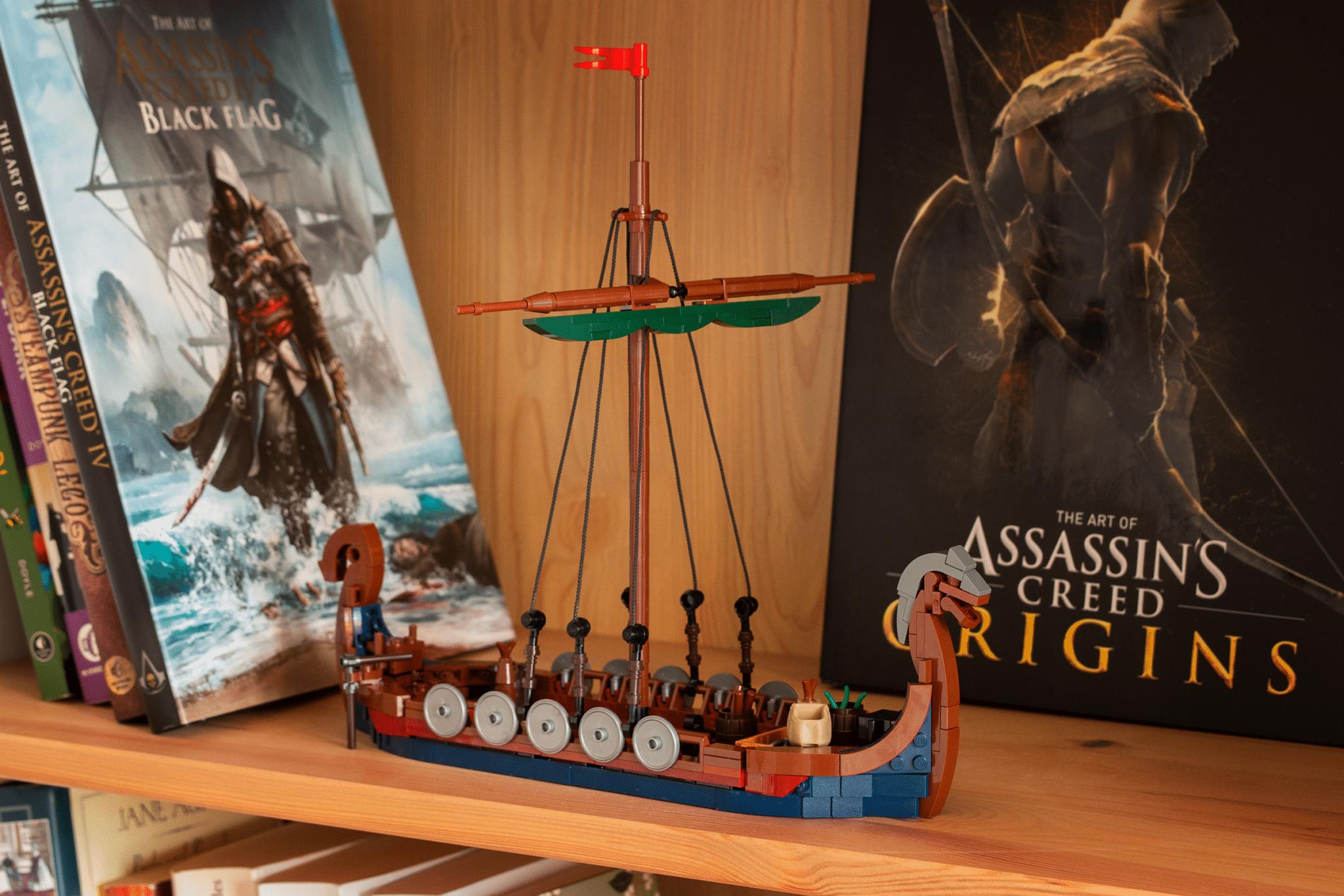 Langboot Displayed