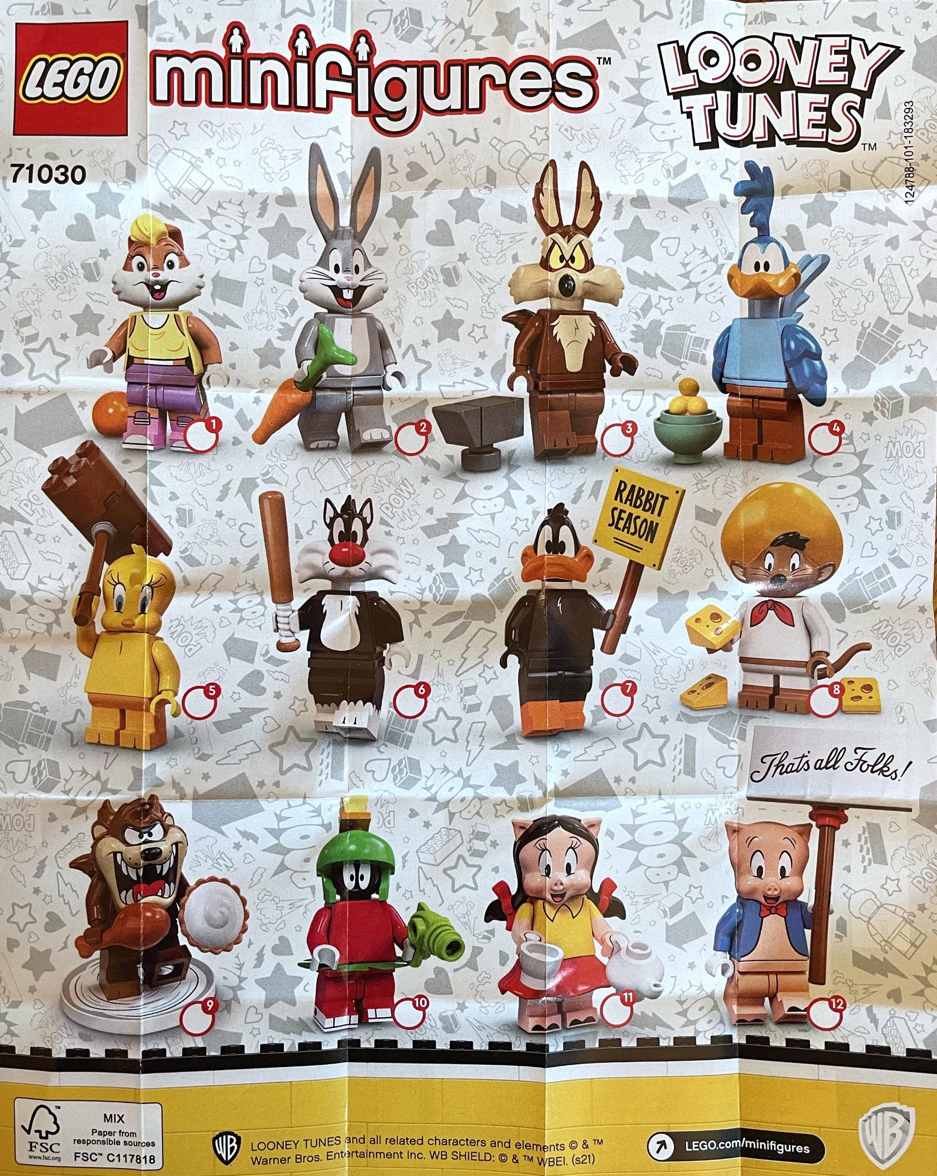 LEGO 71030 Looney Tunes Brickset Erstes Bild 2