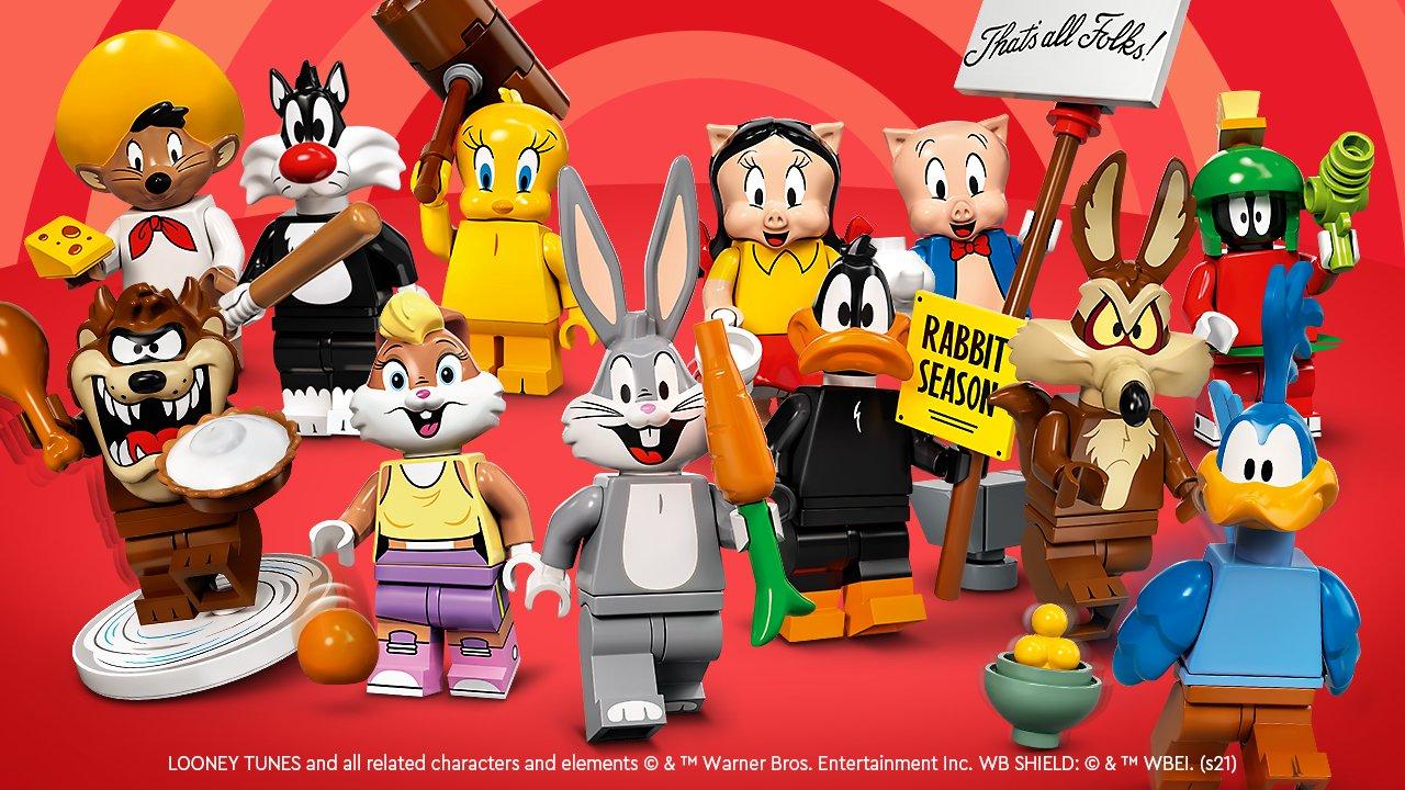 LEGO 71030 Looney Tunes Minifiguren Banner