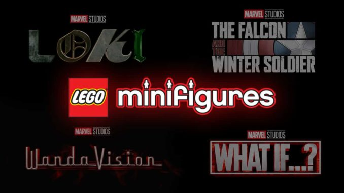 LEGO 71031 Marvel Minifigures Disney+ Titel