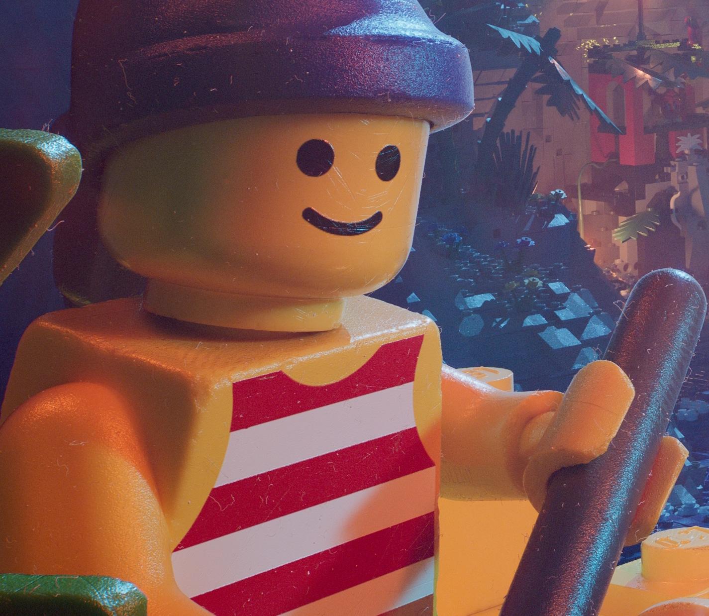 LEGO 90er Piraten Poster Gesicht2