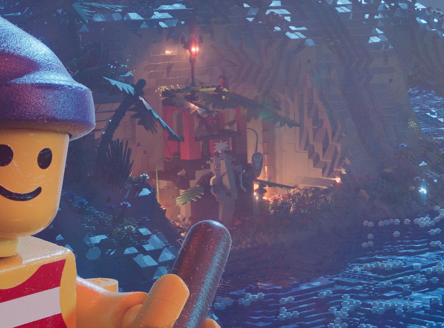 LEGO 90er Piraten Poster Insulaner