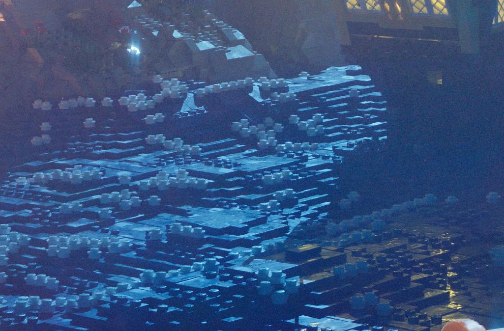 LEGO 90er Piraten Poster Wasser