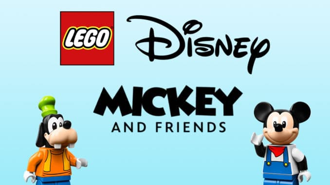 LEGO Disney Mickey And Friends 2021 Titel