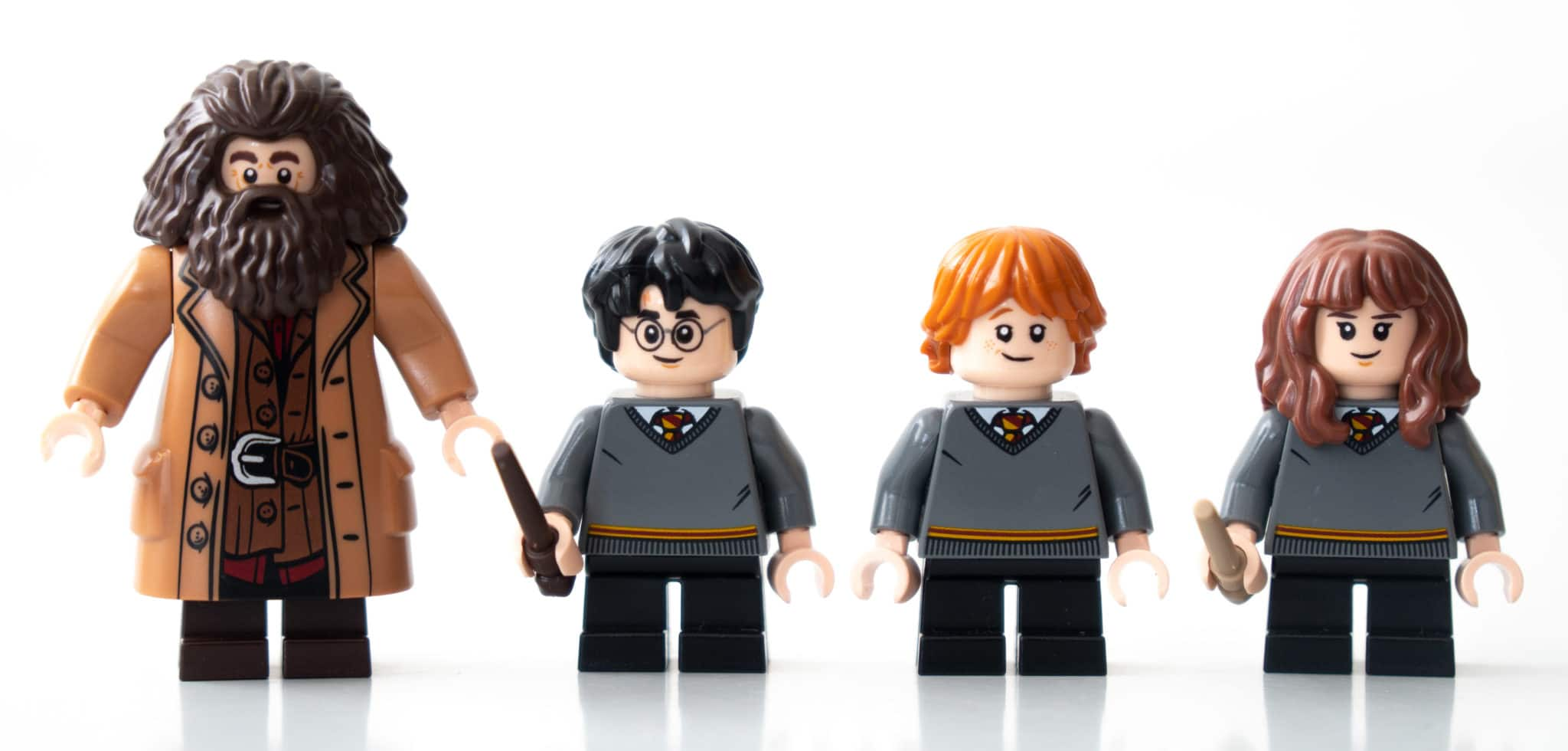 LEGO Harry Potter Brickheadz 40495 Harry Hermine Ron Hagrid