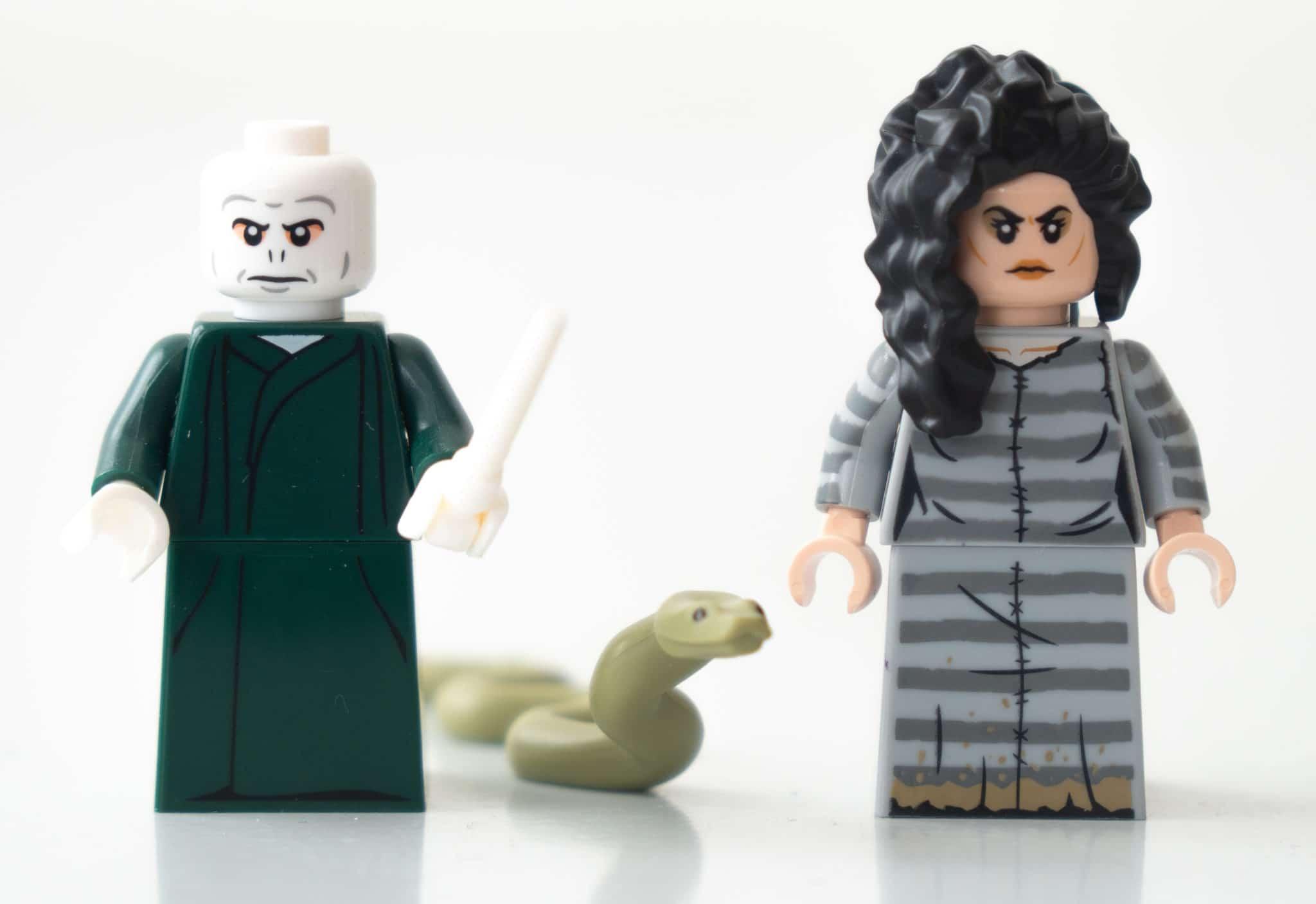 LEGO Harry Potter Brickheadz 40496 Voldemort Nagini Bellatrix