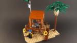 LEGO Ideas Seaside Contest 01 Lifeguard Shack