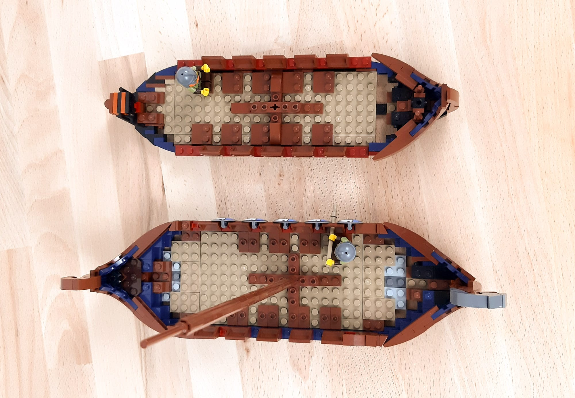 LEGO Ideas Wikinger Schiff Wip 5