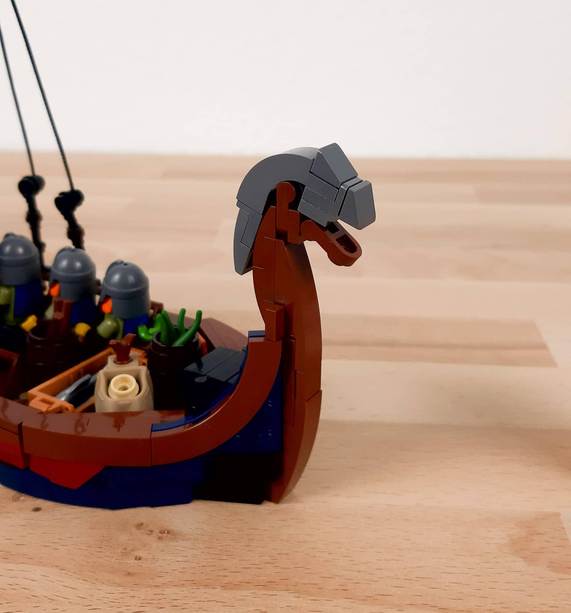 LEGO Ideas Wikinger Schiff Wip 6
