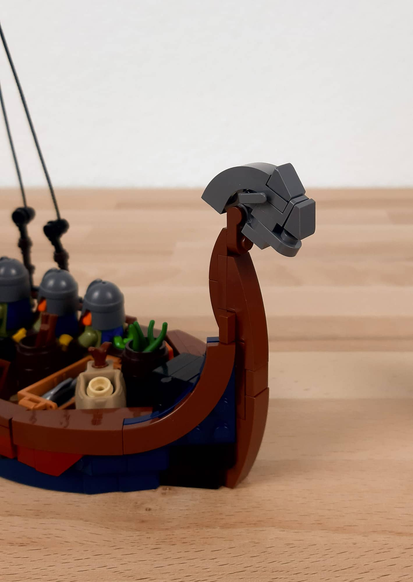 LEGO Ideas Wikinger Schiff Wip 7