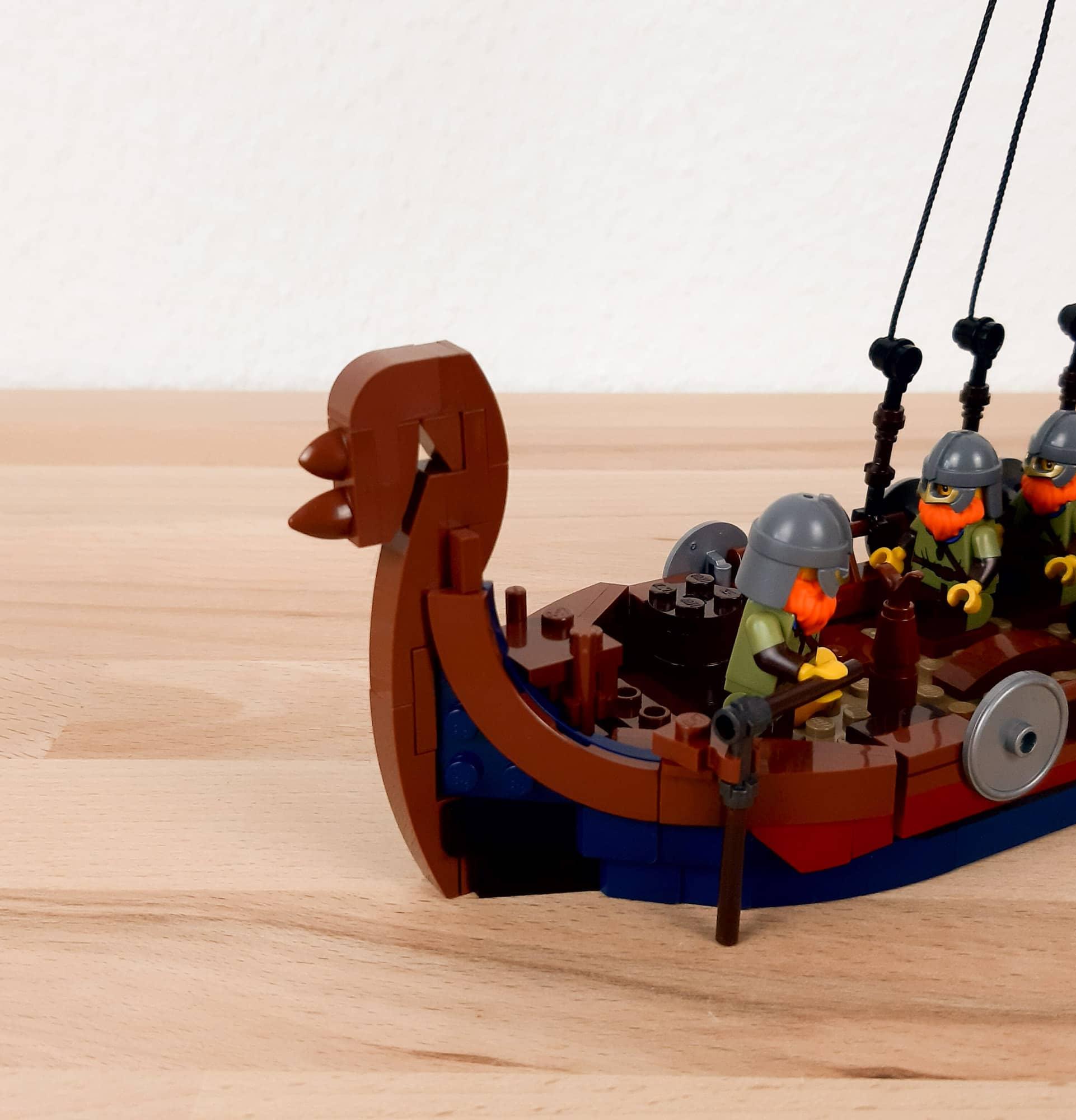 LEGO Ideas Wikinger Schiff Wip 9