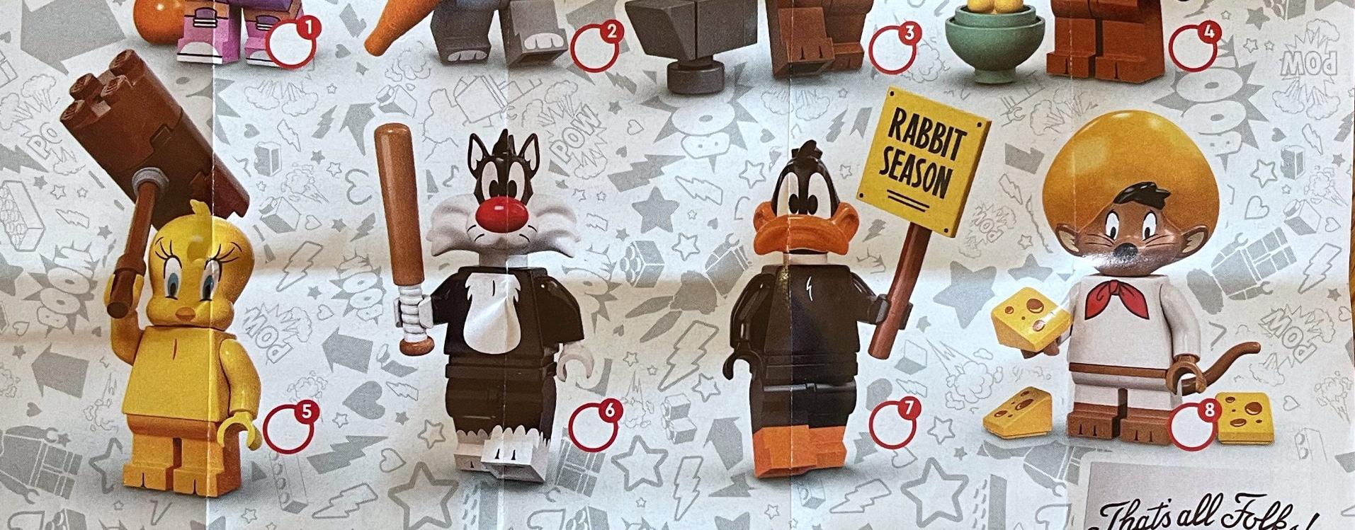 LEGO Loony Tunes Minifiguren 02