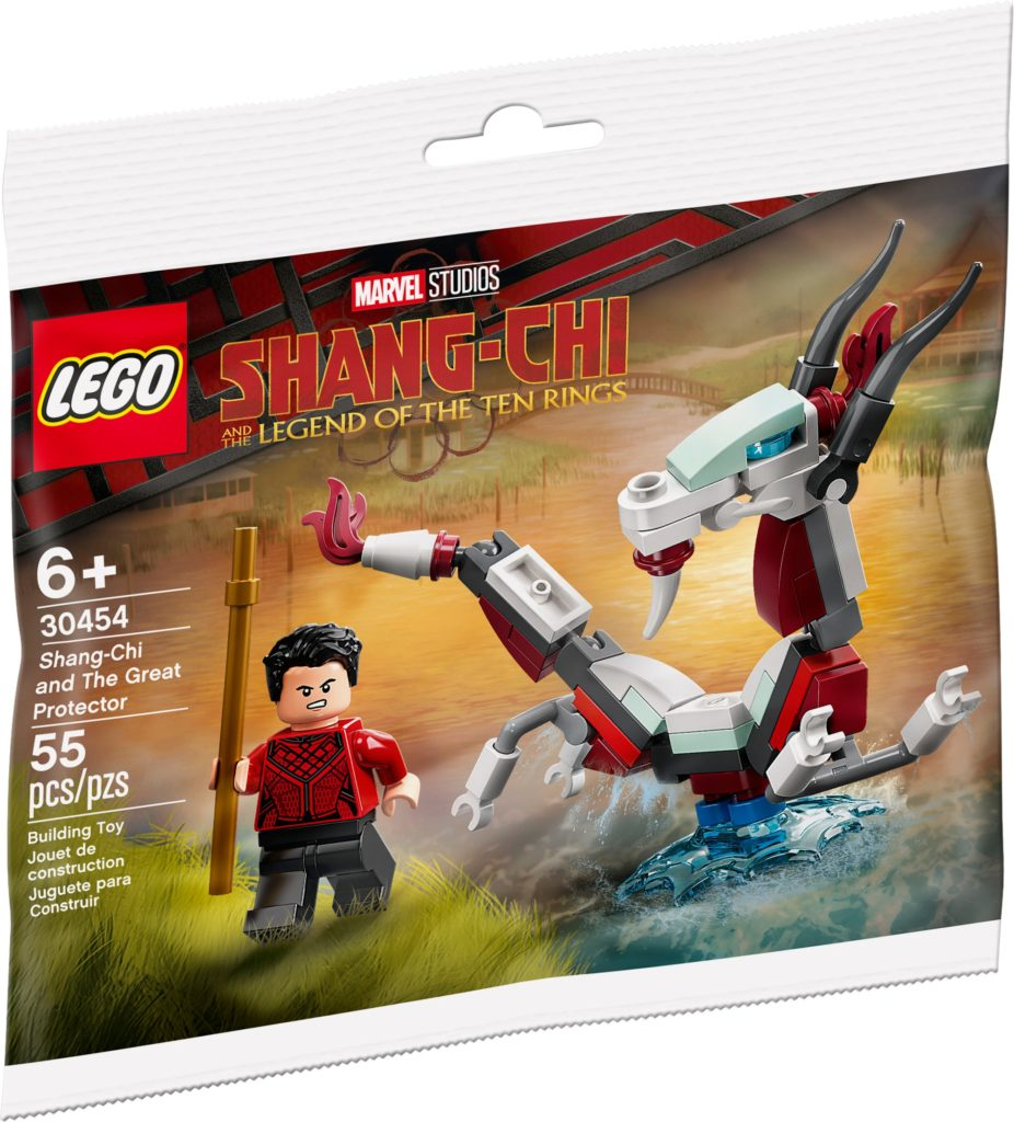 LEGO Marvel 30454 Shang Chi Polybag The Great Protector