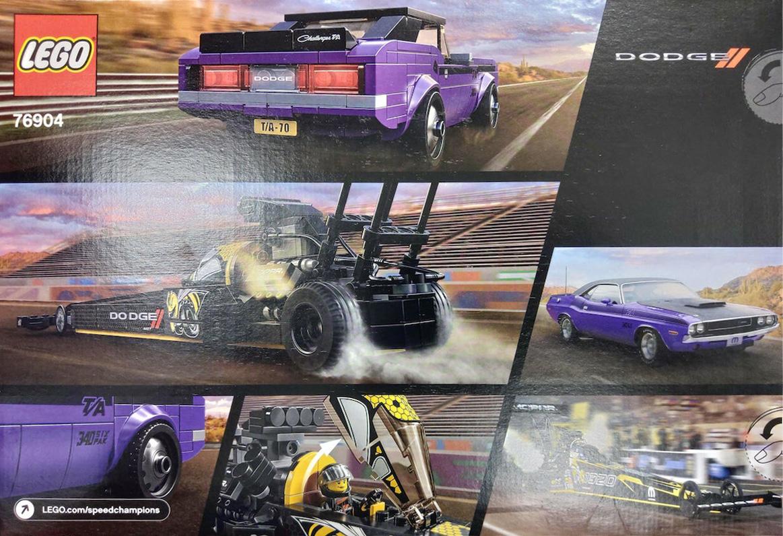 LEGO Speed Champions 76904 Dodge Doppelpack Rückseite