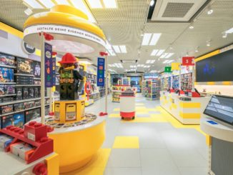 LEGO Store Stuttgart Eröffnung Titel