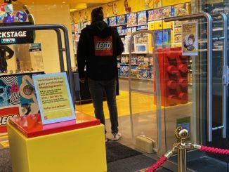 LEGO Store Termin Shopping Corona Titel