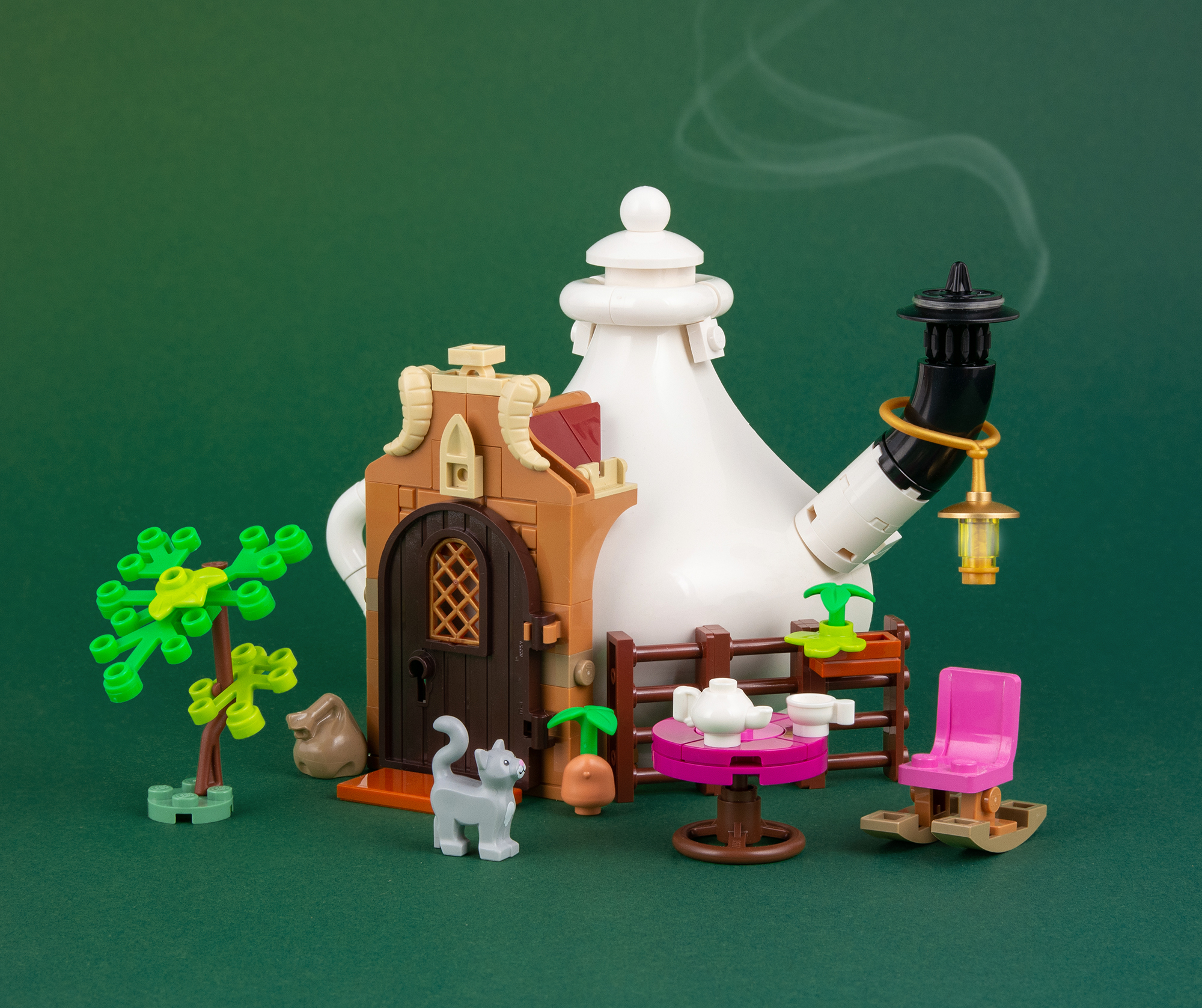 LEGO Teekannen Haus 02 2000