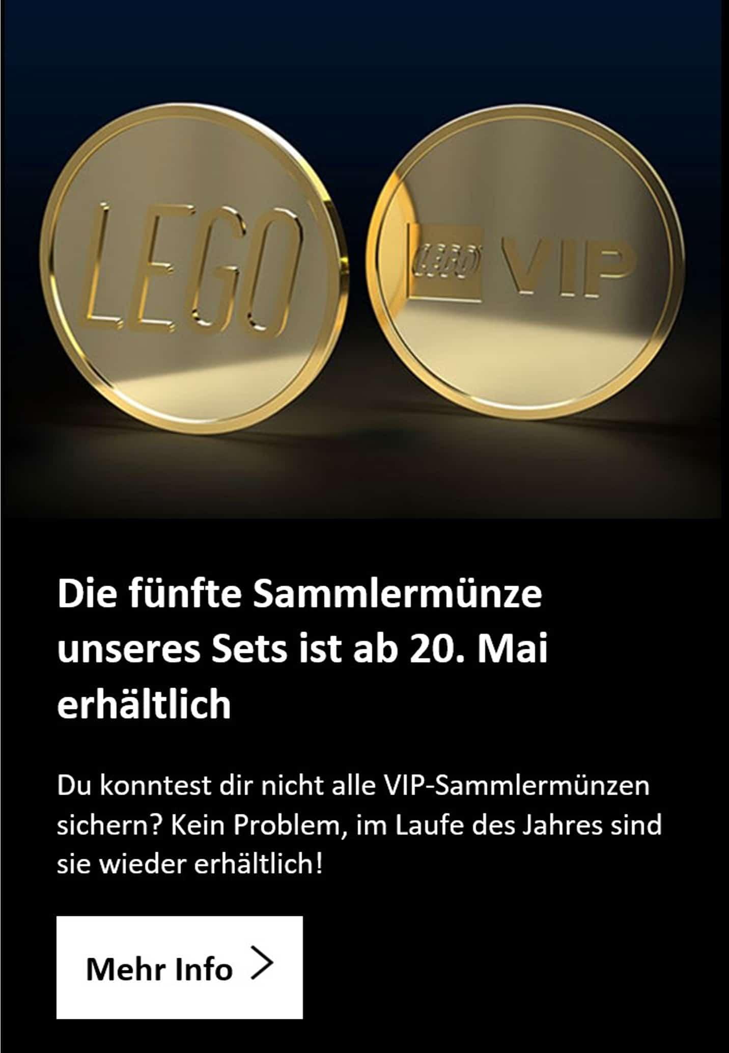 LEGO Vip Münze 5 Ankündigung Mai 2021 De