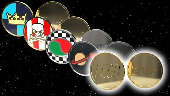 LEGO Vip Münze 5 Titel