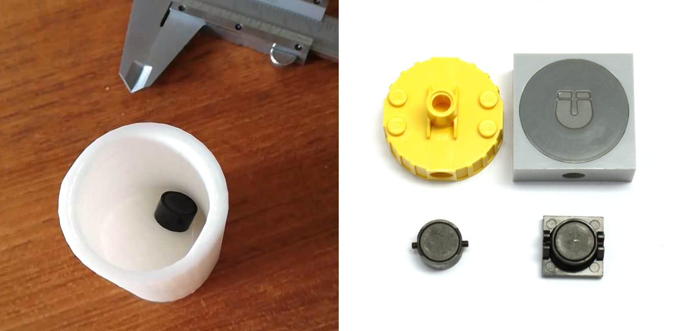 Prüfzylinder Magnete En71 1