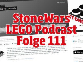 Stonewars LEGO Podcast Folge 111